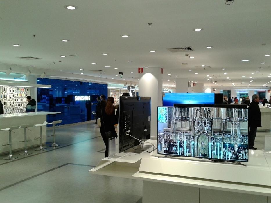 Samsung store in el corte ingl s bilbao imoel - El corte ingles stores ...